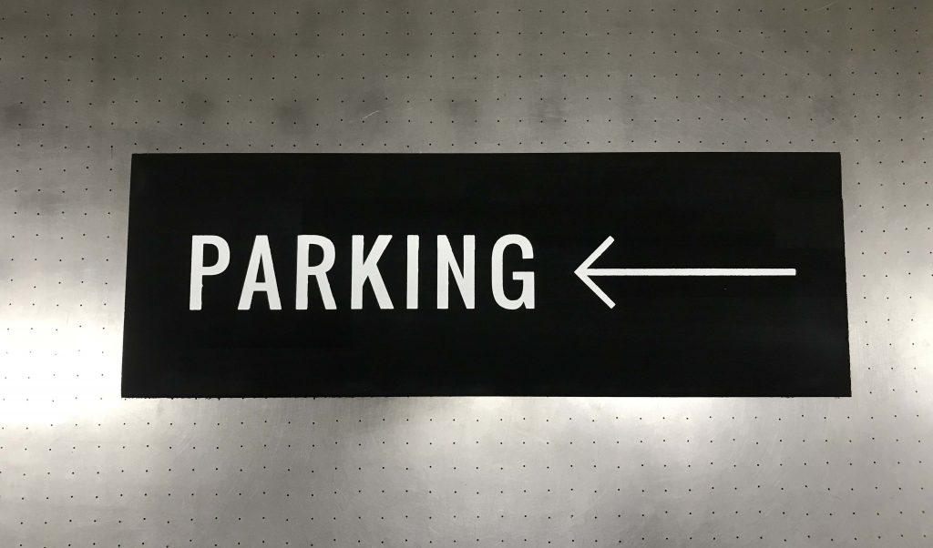 駐車場用案内板